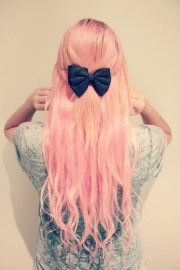 pink hairstyles ideas