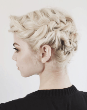 short hair updos 30 easy and stylish