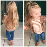 cute and easy little girl hairstyles