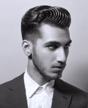 perfect pompadour haircuts