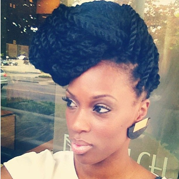 35 Stunning Kinky Twists Styles Youll Love To Try