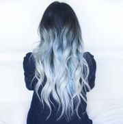 blue ombre hair color ideas