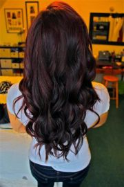dark red hair color ideas &
