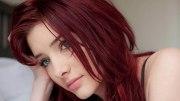 dark red hair color ideas &