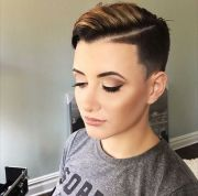 modern shaved hairstyles