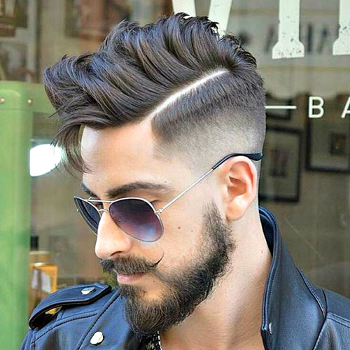 30 Hard Part Haircut Ideas For The Modern Dapper Man Part 26