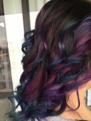 oil slick hair epic rainbow