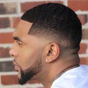 black men's haircuts edgy