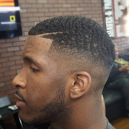 360 Waves With Hair Design And Beard