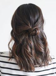 cute and easy hairstyles medium
