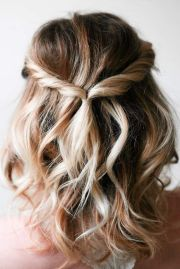 cute and easy hairstyles medium