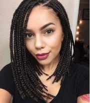 short box braids hairstyles