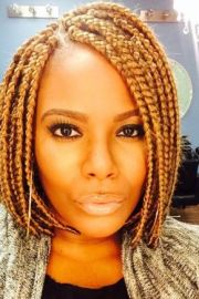 short box braids hairstyles