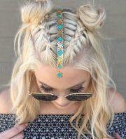 boho and hippie hairstyles