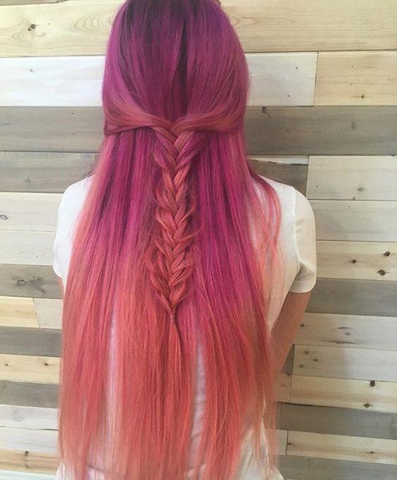 Color Melt Hair 35 Ideas For Seamless Color Melting Looks