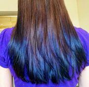 dip dye hair guide