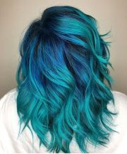 teal hair dye shades and