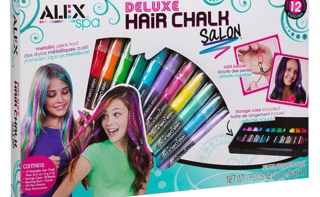 Hair Chalk Reviews How To Chalk Your Hair Tutorial