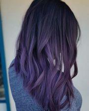 bold and provocative dark purple
