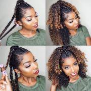curl hair heat