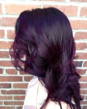 bold and provocative dark purple