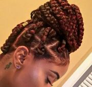 chunky cool jumbo box braids