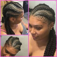Cornrow Tree Braids Natural Hair
