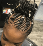 beautiful fishbone braid hairstyles