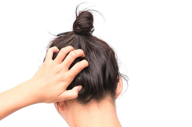 Masna kosa vezana u rep