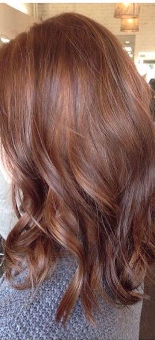 40 brilliant chestnut hair