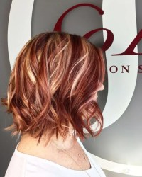 Red Highlights Ideas for Blonde, Brown and Black Hair