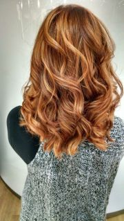 red highlights ideas blonde