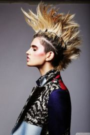 long and short punk hairstyles
