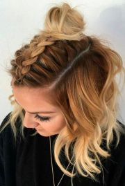 braided hairstyles short hair