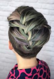 braided hairstyles short hair