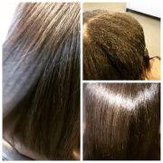 keratin treatment black hair