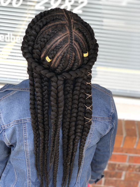 35 Stunning Feed in Braids Hairstyles To Try This Year  Part 48