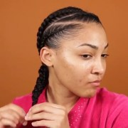 natural braided hairstyles