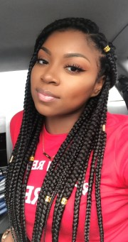 stunning crochet box braids