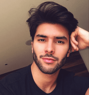 3 male models with amazing hairstyles