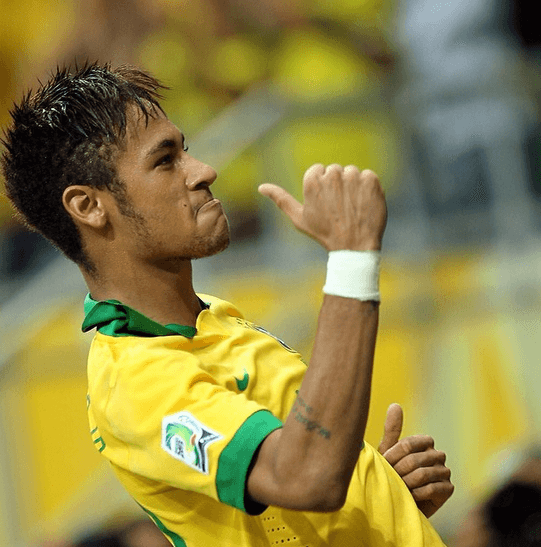 29 of The Best Neymar Hairstyles 2014
