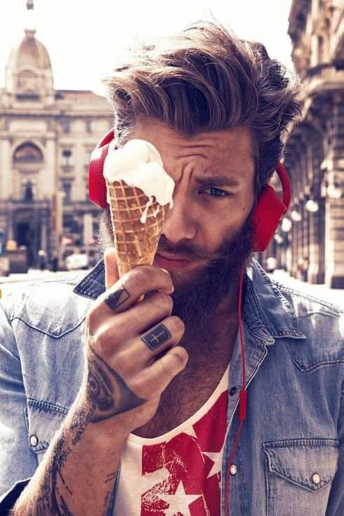 25 Tattooed Guys with Amazing Hairstyles