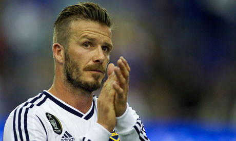 The Many Hairstyles of David Beckham