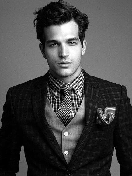 The sides should be clipped with a razor on a setting anywhere from #3 to #6. 16 Professional Hairstyles for Men