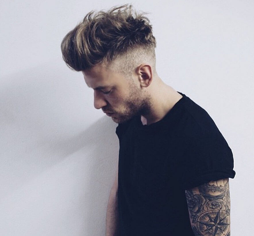 25 Amazing Mens Fade Hairstyles  Part 4