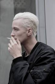 bleached hair men achieve