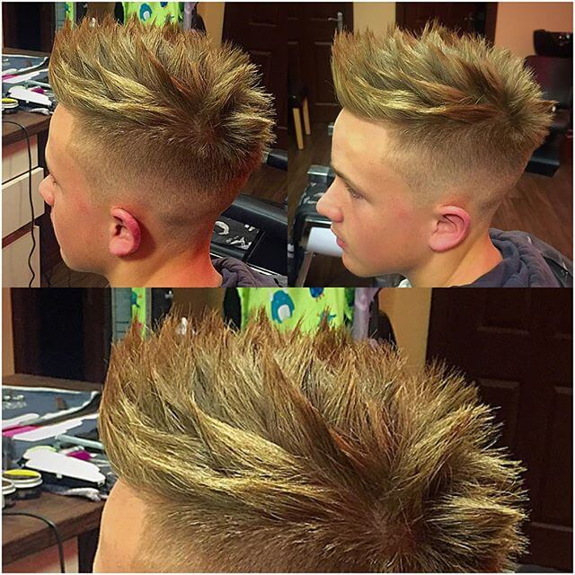 Achieve Amazing Spiky Hairstyles For Men Hairstyles