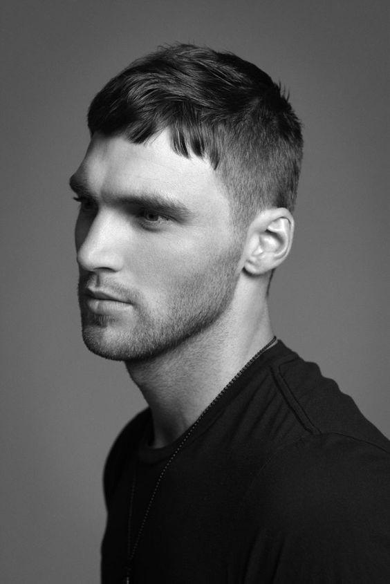 top50mensshorthairstylesfringecrew  Hairstyles  Haircuts for Men  Women