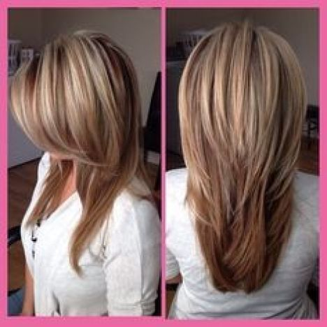 Women Over 40 long balayage