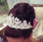 black wedding hairstyles